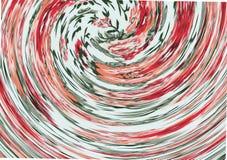 桃红色和白色扭转了打旋的设计 库存照片