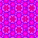 桃红色和紫罗兰色明亮的连续的样式 库存图片