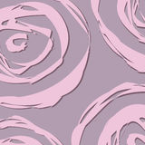 桃红色和紫色抽象玫瑰背景 库存照片