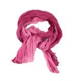 桃红色围巾 图库摄影