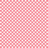桃红色圆点 免版税库存图片