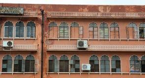 桃红色城市在斋浦尔,拉贾斯坦,印度 库存图片