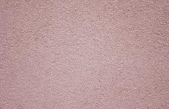 桃红色墙壁纹理和背景 免版税库存图片