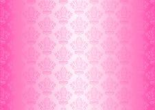 桃红色墙纸 库存例证