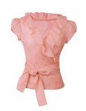 桃红色女衬衫 库存照片