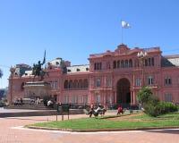 桃红色宫殿,布宜诺斯艾利斯,阿根廷 免版税库存图片