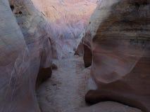 桃红色峡谷 图库摄影