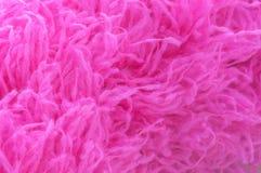 桃红色微纤维关闭 库存图片