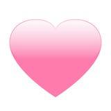 桃红色心脏传染媒介 库存照片