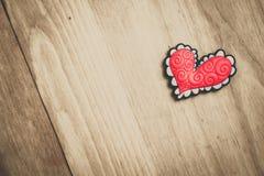 桃红色心脏 图库摄影