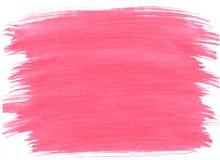 桃红色抽象aquarel水彩背景 图库摄影