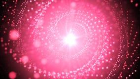 桃红色摘要闪烁 库存照片