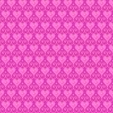 桃红色无缝的传染媒介样式 免版税库存照片