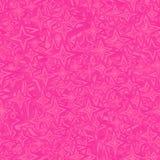 桃红色无缝的特征模式 库存例证