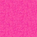 桃红色无缝的长方形样式 免版税库存照片