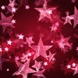 桃红色星形 免版税图库摄影