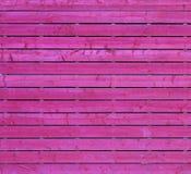 桃红色木头 库存照片