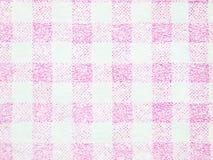 桃红色条纹纸纹理特写镜头  免版税库存图片