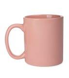 桃红色杯子 库存图片