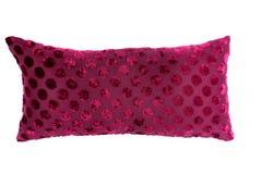 桃红色枕头 库存图片