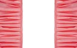 桃红色框架装饰了与一个地方的织品您的文本的 免版税库存图片