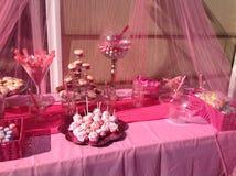 桃红色棒棒糖 库存图片