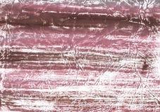 桃红色棕色隐晦的水墨画背景 图库摄影