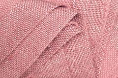 桃红色毯子 免版税库存图片