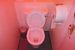 桃红色洗手间在布赖顿 图库摄影