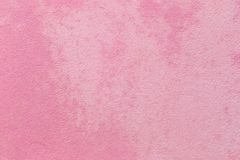 桃红色混凝土墙背景 图库摄影