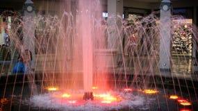 桃红色瀑布 图库摄影