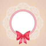 桃红色珍珠 库存照片