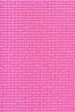 桃红色瑜伽席子纹理 库存图片