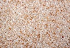 桃红色盐水晶充分的框架关闭 库存图片