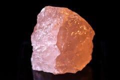 桃红色石英 库存照片