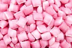 桃红色糖果填充 库存照片