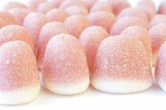 桃红色糖果 库存图片