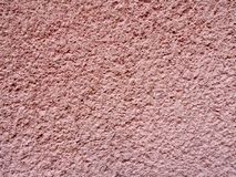 桃红色纹理墙壁 免版税库存照片
