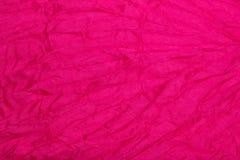 桃红色纺织品 库存照片