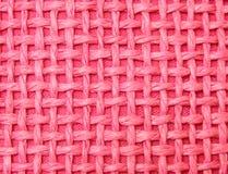 桃红色织法 库存照片