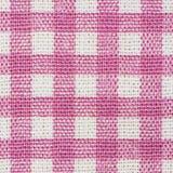 桃红色经典方格的织品 图库摄影