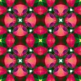 桃红色绿色现代抽象纹理 详细的背景例证 无缝的瓦片 家庭装饰织品设计样品 Tileable mot 库存照片