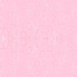 桃红色背景、五颜六色的圈子和椭圆在桃红色背景 图库摄影
