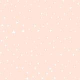 桃红色背景,三角的各种各样的大小在桃红色背景的 免版税库存图片