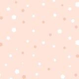 桃红色背景,在桃红色背景的五颜六色的五边形 免版税库存照片
