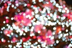 桃红色背景 葡萄酒称呼了假日抽象bokeh 库存照片