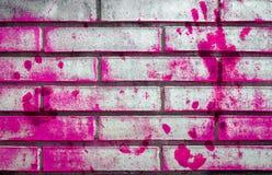 桃红色脏的墙壁 免版税图库摄影