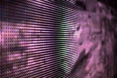 桃红色色的LED屏幕背景 免版税库存图片