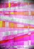桃红色艺术摘要铺磁砖背景 库存例证