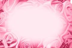 从桃红色芽的柔和的背景,一大套花卉背景 免版税库存照片